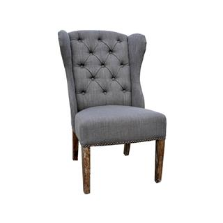 Babar Tufted Grey Dining Chair