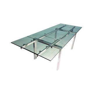 Photo of Cantro Glass Extending Architectural Dining Table