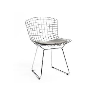 Photo of Gray Bertoia Dining Chair with Pad