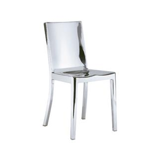 Photo of Bronx Polished Steel Dining Chair