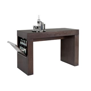Bradley Wood Bar Table Espresso