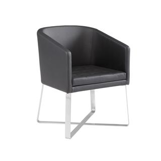 Photo of Benson Black Tub Chair for Dining