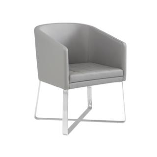 Photo of Benson Gray Tub Chair for Dining