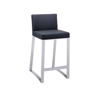 Photo of Architect Contemporary Leather Counter Stool