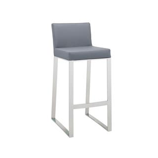 Photo of Architect Contemporary Leather Bar Stool