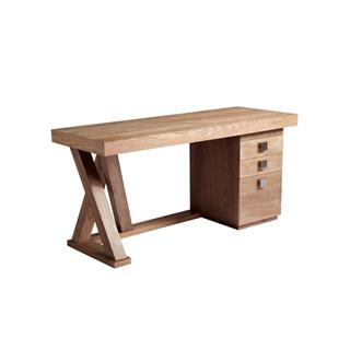 Photo of Madero Driftwood Desk with Drawers