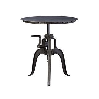 Brava Crank Adjustable Iron Table