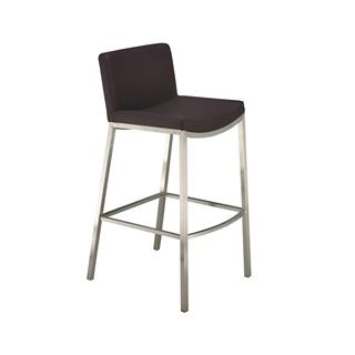 Photo of Brava Lowback Black Counter Stool