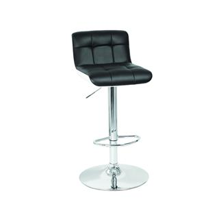 Photo of Camino Black Contemporary Gas Lift Stool
