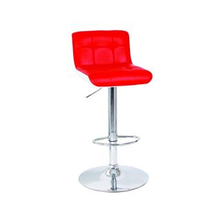 Photo of Camino Red Contemporary Gas Lift Stool