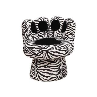 Photo of Pawz Zebra Funky Accent Chair