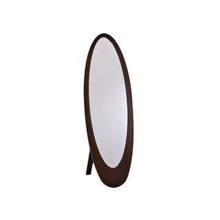 Infinity Cheval Mirror in Cappuccino