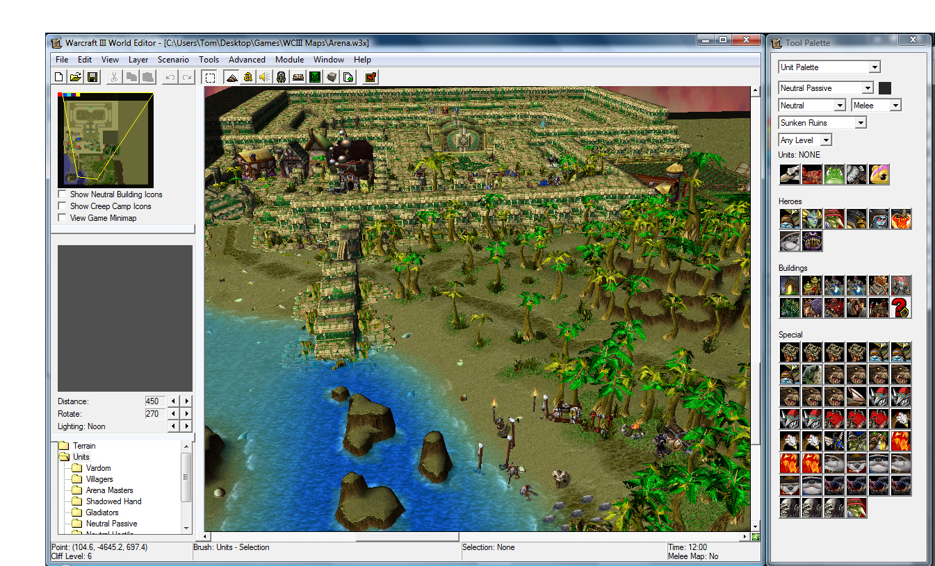 Toolchains editors and workflows the underdogs in game warcraft 3 gumiabroncs Gallery